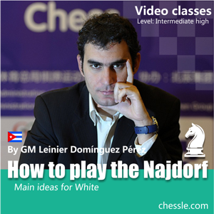 How to play the Najdorf with whites by Leinier Dominguez